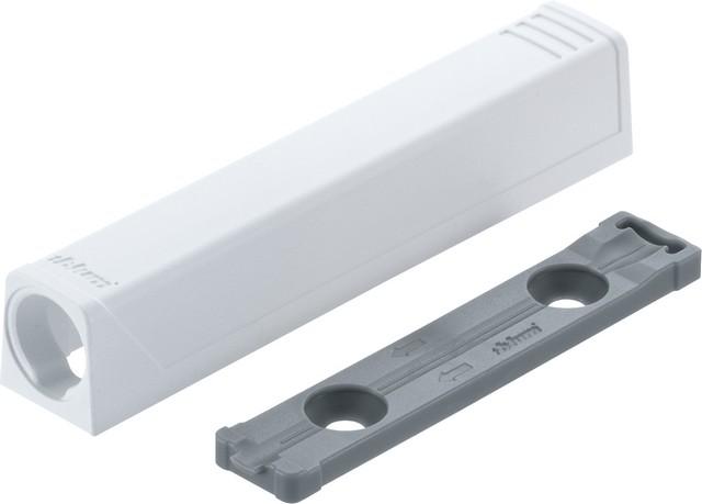 Держатель TIP-ON для дверей, прям. (20/32 мм)