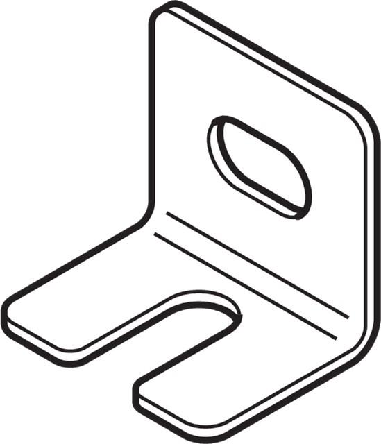 Уголок L-образный, сталь