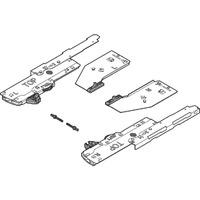Комплект (Единица + триггер + Адаптер) TIP-ON BLUMOTION для Конструкции под мойку LEGRABOX, Тип L3, НД=350-750 мм, Общий вес ящика=15-40 кг, правый и левый